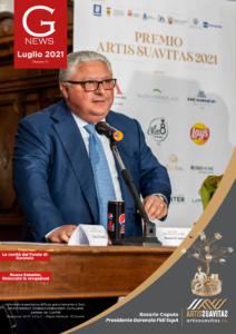 Gnews copertina luglio rosario caputo premio